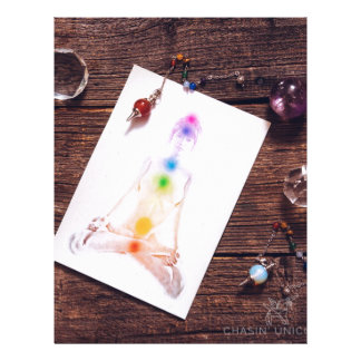 chakras and balance letterhead