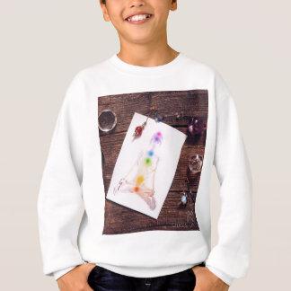 chakras and balance sweatshirt