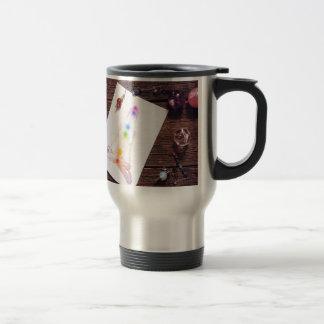 chakras and balance travel mug