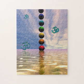 chakras and clouds jigsaw puzzle