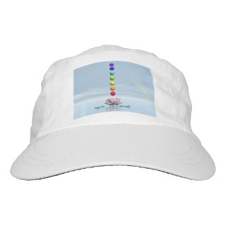 Chakras and rainbow - 3D render Hat