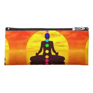 Chakras at sunset - 3D render Pencil Case