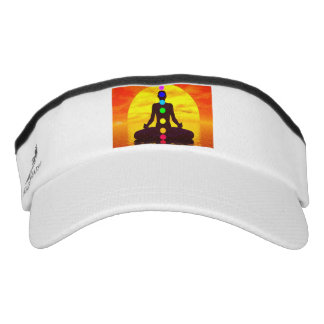 Chakras at sunset - 3D render Visor