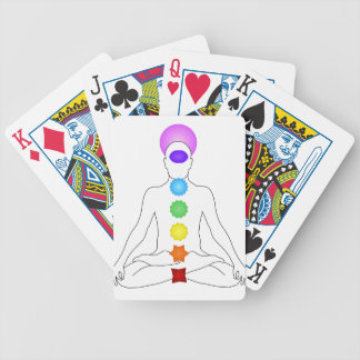 Chakras Bicycle Playing Cards