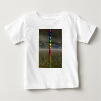 chakras black baby T-Shirt