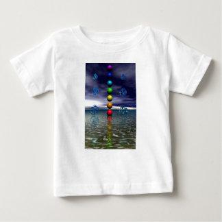 chakras blue and white baby T-Shirt