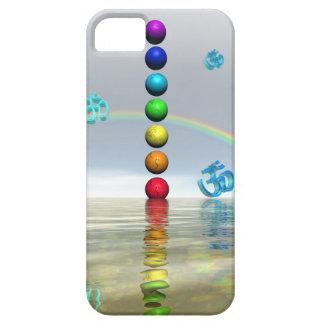 chakras white iPhone 5 cases