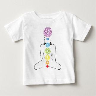 Chakras yoga color 01 baby T-Shirt