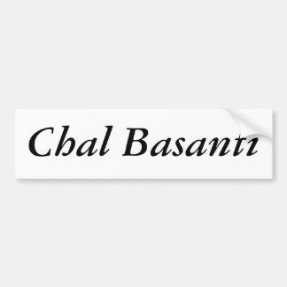 Chal Basanti Bumper Sticker