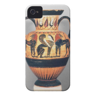 Chalcidian black figure amphora depicting a sphinx iPhone 4 cover