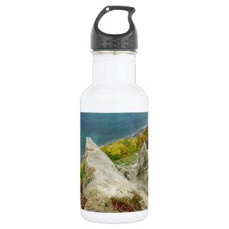 Chalk cliffs on the island Ruegen 532 Ml Water Bottle