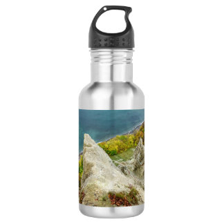 Chalk cliffs on the island Ruegen 532 Ml Water Bottle