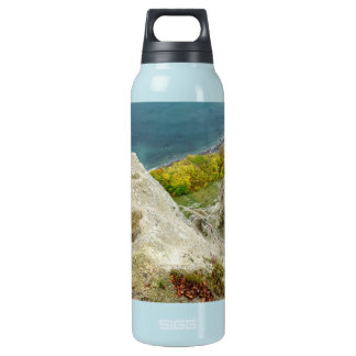 Chalk cliffs on the island Ruegen Insulated Water Bottle