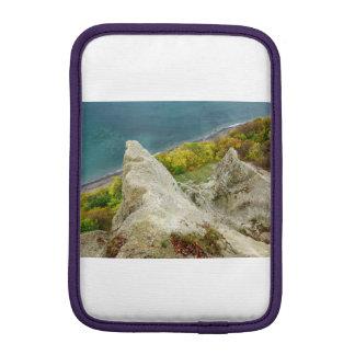 Chalk cliffs on the island Ruegen iPad Mini Sleeve