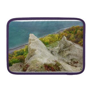 Chalk cliffs on the island Ruegen MacBook Sleeve