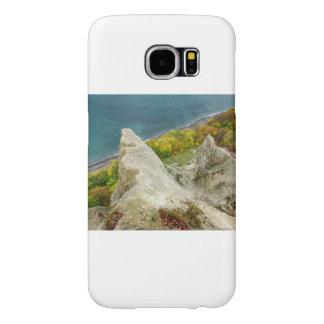 Chalk cliffs on the island Ruegen Samsung Galaxy S6 Cases