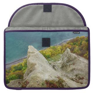Chalk cliffs on the island Ruegen Sleeve For MacBooks