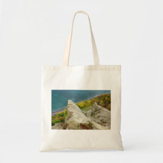 Chalk cliffs on the island Ruegen Tote Bag