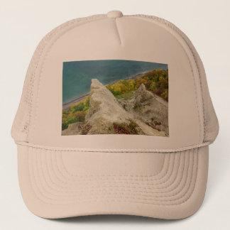 Chalk cliffs on the island Ruegen Trucker Hat