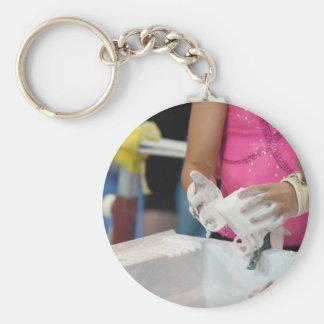 Chalk Hands Keychain