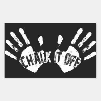 Chalk It Off - Handsy Logo Sticker