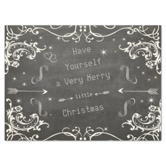 Chalkboard a Merry Little Christmas Tissue Paper