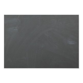 Chalkboard background invitation- Customize Card
