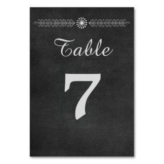 Chalkboard Black and White Wedding Card