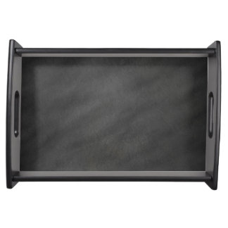 Chalkboard Blackboard Background Retro Style Serving Tray