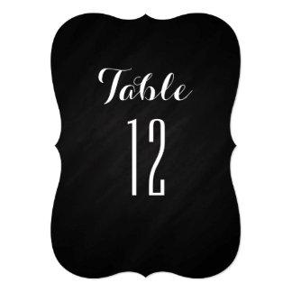 Chalkboard Bracket Table Numbers