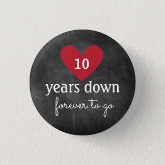 Chalkboard Button | Anniversary Favor
