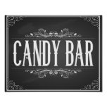 Chalkboard Candy Bar Print for wedding or party