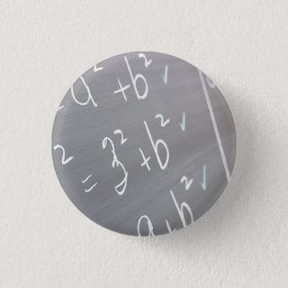 Chalkboard Closeup 1 Inch Round Button