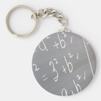Chalkboard Closeup Keychain