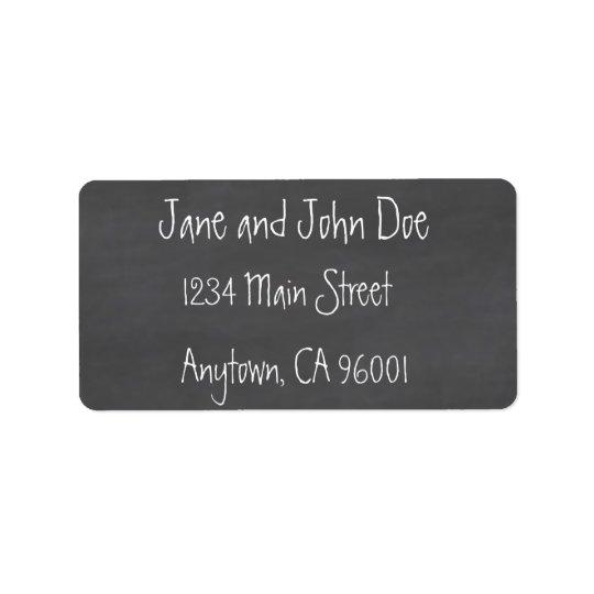 Chalkboard CustomizeABLEs Label
