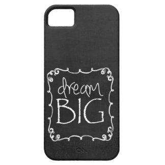 Chalkboard Design DREAM BIG Custom iPhone 5 S Case