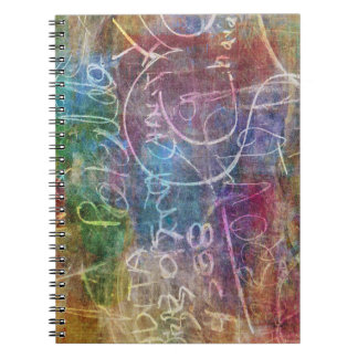 Chalkboard Design Photo Notebook