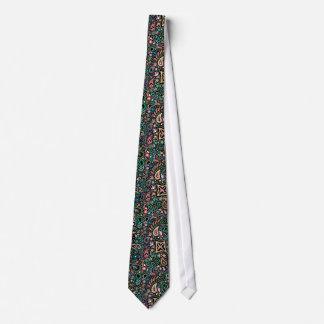 Chalkboard Doodle necktie paisley tie