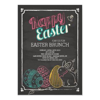 Chalkboard Easter Brunch Dinner Party Invitation