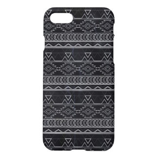 Chalkboard Effect Aztec Tribal Stripes iPhone 7 Case