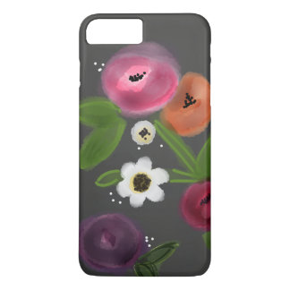 CHALKBOARD FLORAL LOVE Barely There Phone Case