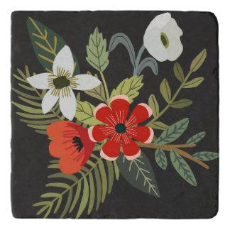 Chalkboard Flower Bouquet Trivet