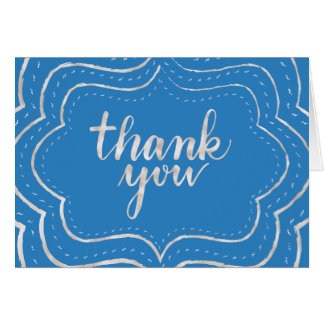 Chalkboard Framed Thank You Card