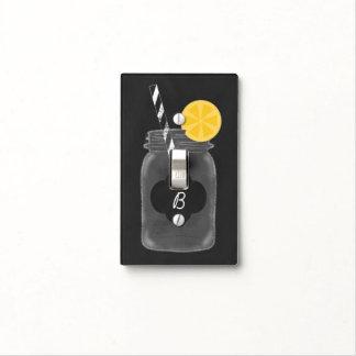 Chalkboard Mason Jar Rustic Light Switch Cover