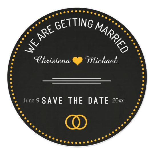 Chalkboard Save The Date Announcement (1)