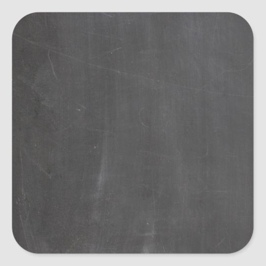 Chalkboard Square Sticker