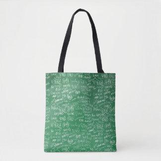 Chalkboard Statements Tote Bag