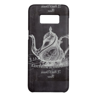 Chalkboard teapot Alice in Wonderland tea party Case-Mate Samsung Galaxy S8 Case