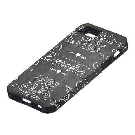 Chalkboard Typography Art iPhone 5/5S Case