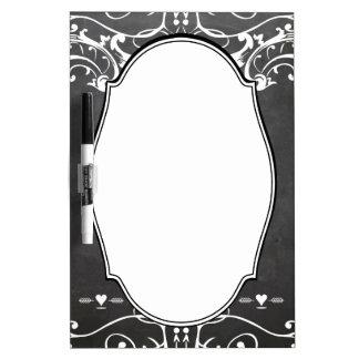 Chalkboard Typography Weddings Dry Erase Board